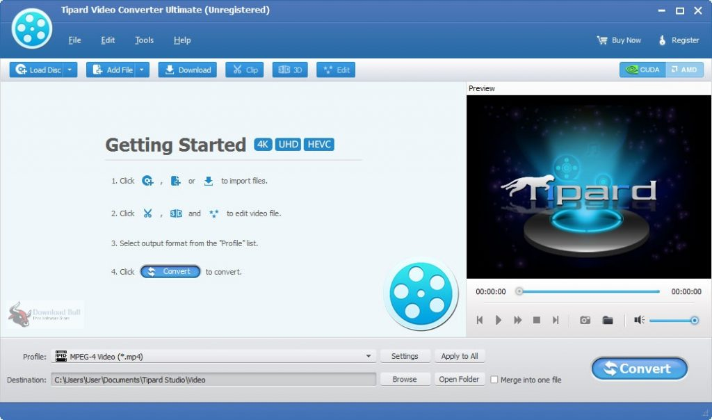 Portable Tipard Video Converter Ultimate 10.1 One-Click Download