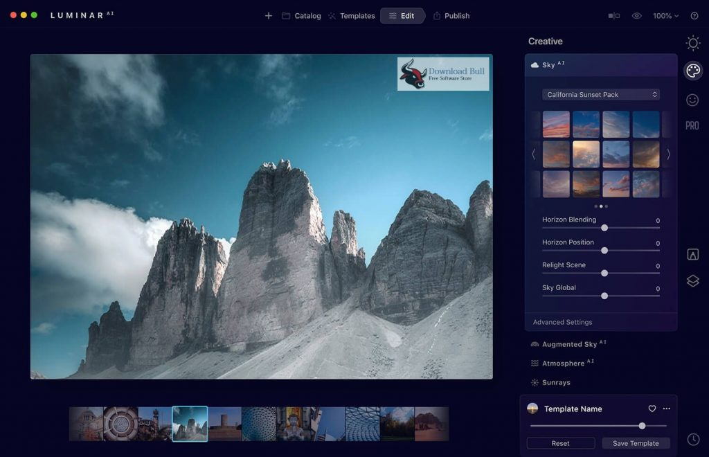 Skylum Luminar AI 1.0.0.7410 Free Download (1)