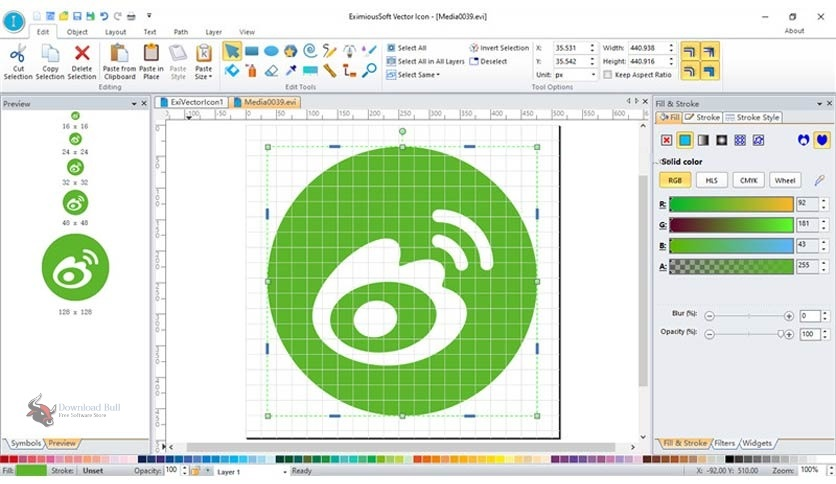 Portable EximiousSoft Vector Icon 3.72 Free Download