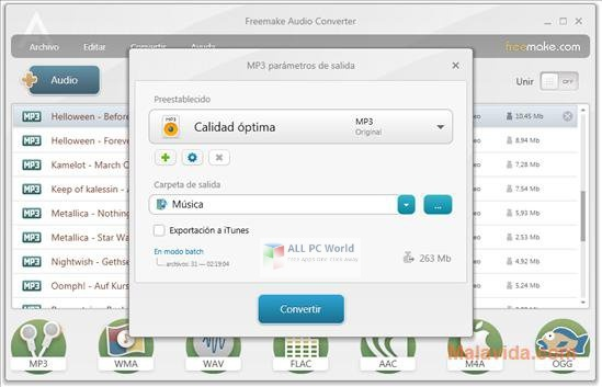 Portable Freemake Audio Converter 1.1.9 Direct Download Link