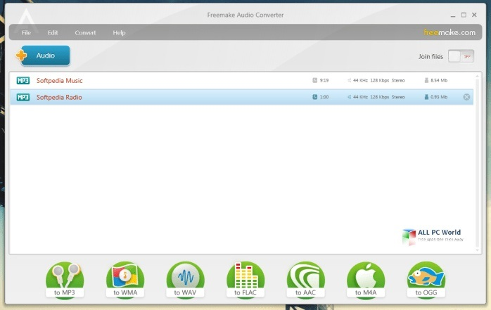 Portable Freemake Audio Converter 1.1.9