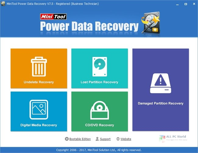 Portable MiniTool Power Data Recovery 9.2 Free Download
